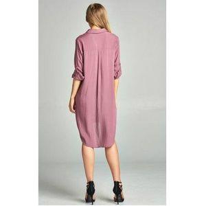 Palm Beach Boutique Dresses Lace Up Long Slv Dress